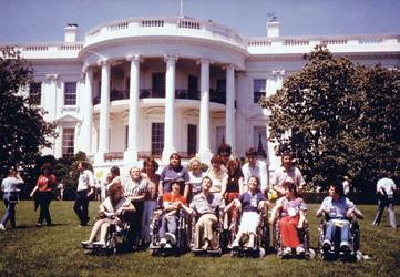 Auftritt im Weißen Haus in Washington