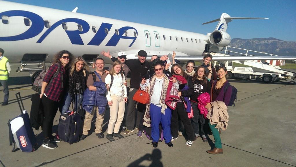 Gastspiel in Tirana