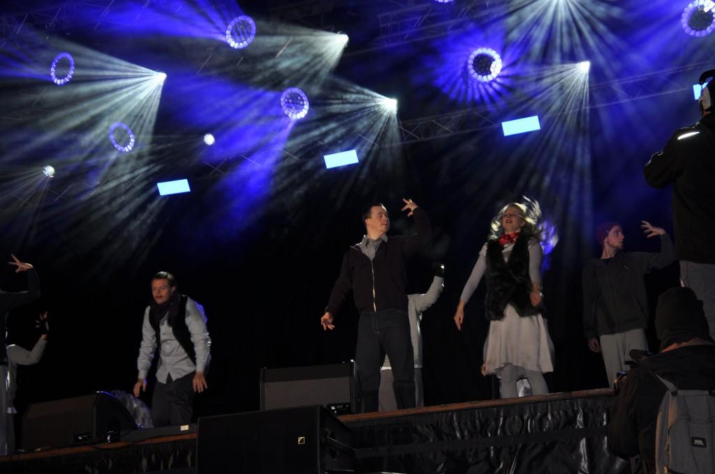 Eröffnungszeremonie der Special Olympics Word Winter Games Pre Games