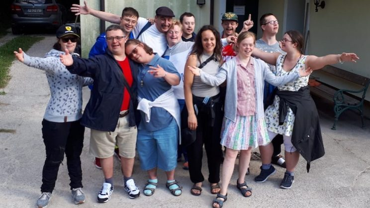 Die Intensivklasse am Sommercamp