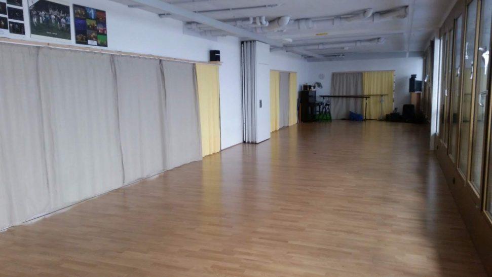 Studio nach Umbau