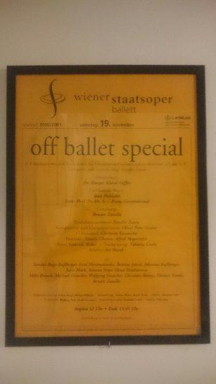 Plakat Off Ballet Special