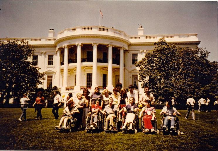 Vor dem Weißen Haus