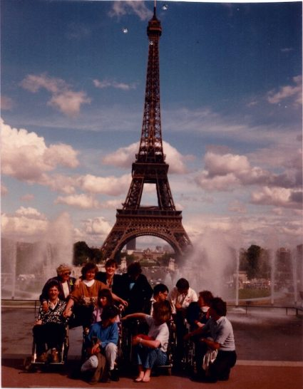 Paris, vor dem Eiffelturm