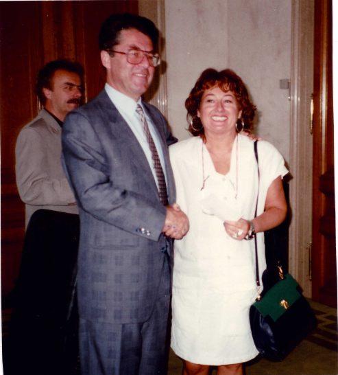 Im Wiener Parlament mit Heinz Fischer