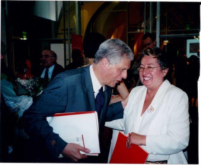 Mit Franz Küberl