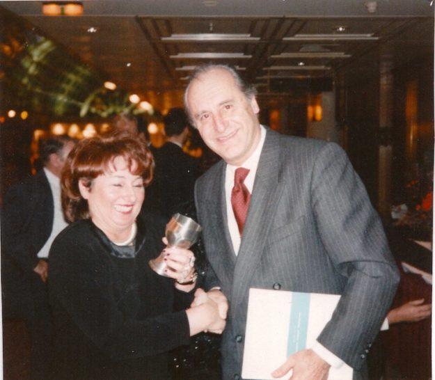 Römer-Verleihung mit BP Klestil