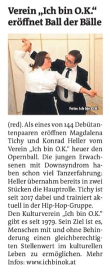 PDF des Berichts in der Bezirkszeitung