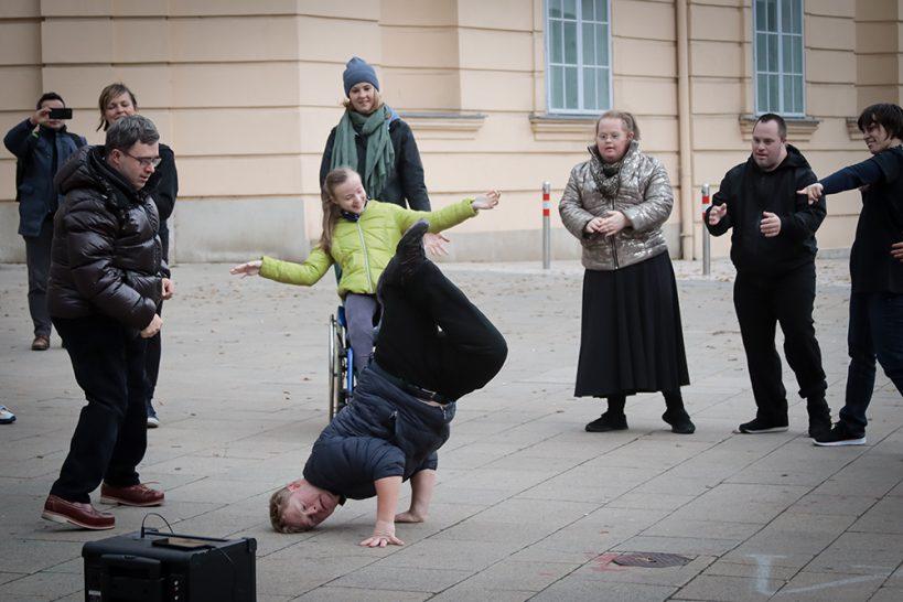 Straßenperformance Tanzstudio
